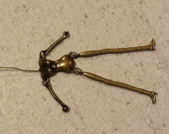 bronze 1 jointed doll body