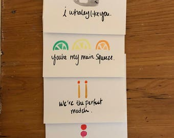 Pack of 5 Assorted Year-Round Valentines