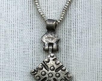 Ethiopian Pewter Charm Necklace