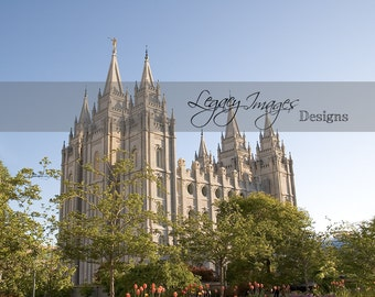 Salt Lake Temple Picture - Digital Download - Printable