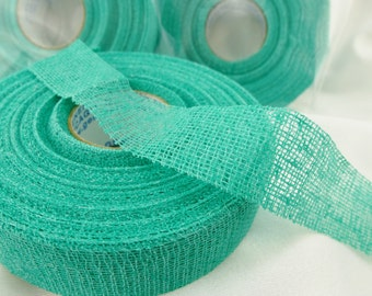 Safety Tape for Fingers, Jewelry Makers, 90 feet x 3/4 inch, Beader's Secret, Flexible, Adhesive, Protective, Tacky, 30yds, Green