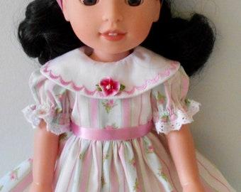 "Summer dress fits 14 1/2"" dolls"