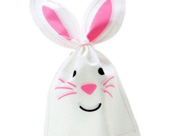 Easter Bunny Treat Bags - 2 Quantity