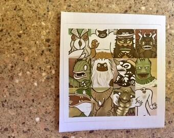 Kaiju Vintage - Sticker