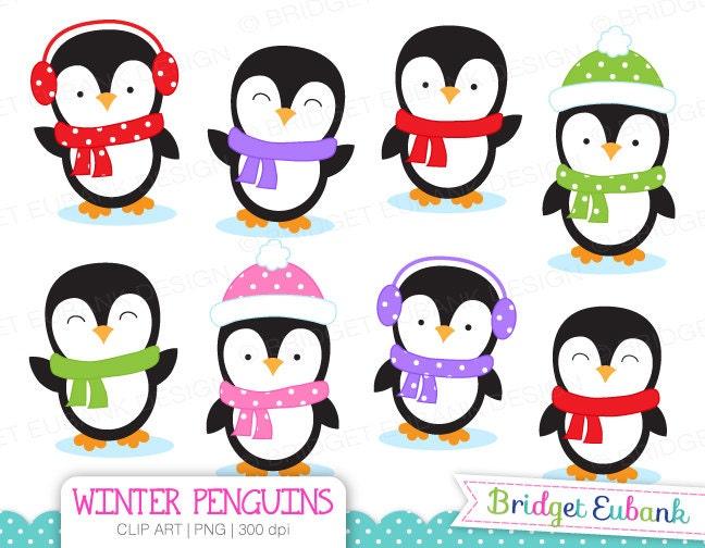 clip art penguin clipart winter penguins clip art penguin rh etsy com penguin clipart black and white penguin clip art for kids