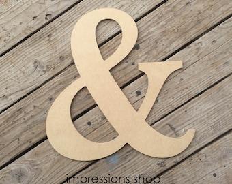 """1/4"""" Ampersand Cutout"""
