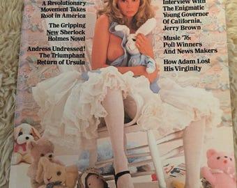 Vintage playboy magazine april 1976