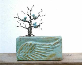 Memories - mixed media sculpture