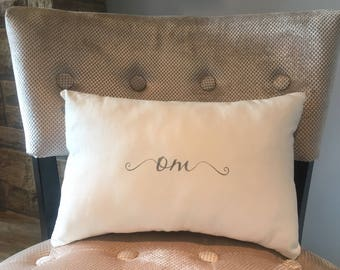 OM Decorative Pillow