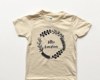 Little Wanderer Kids Tee - Organic T-Shirt, Organic Children's Clothing