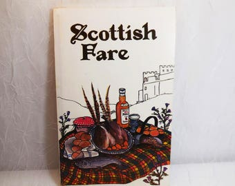 Scottish Fare, Norma and Gordon Latimer, 1983, Vintage Cookbook