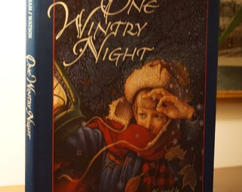 One Wintry Night/Ruth Bell Graham/1994/ Children's Book Christmas Story/ Religious Story/ Christian Children's Book
