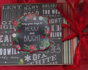 Kit Chalkboard Christmas