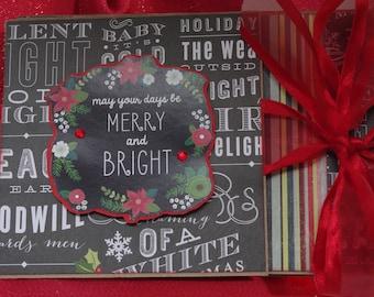 Kit Chalkboard Christmas