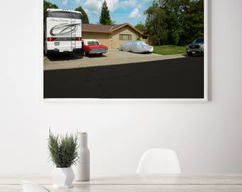 Contemporary Photography Modern Photography Fine Art Photography of Mid Century Suburban Neighborhood in California