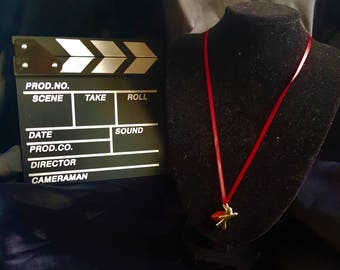 Character Archetype Hero Necklace in Red with charity donation to Help for Heroes