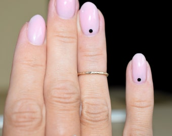 14k gold filled above knuckle ring/ Pinky little finger ring/ Stacking ring/ Everyday jewelry