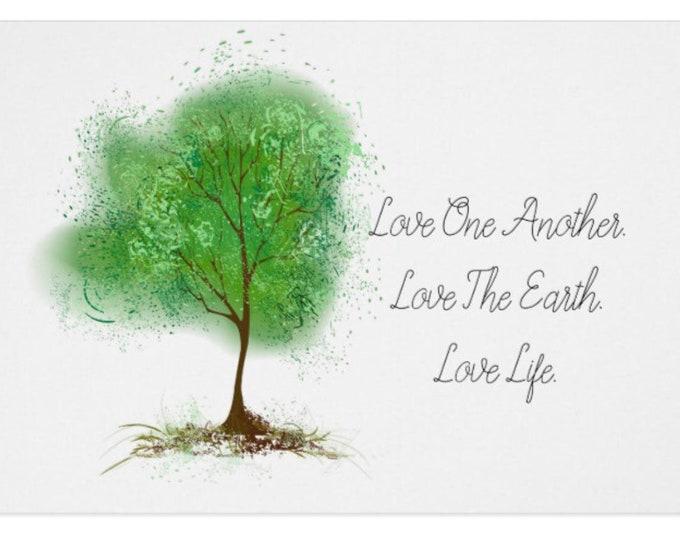 5 X 7 Greeting Card Tree of Life