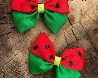 watermelon pigtail set