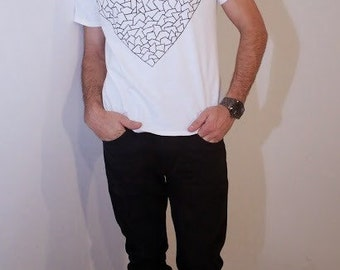 Tesselated Heart Tee