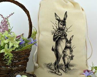 Spring Decor, Farmhouse Decor, Rustic Home Decor, Bunny, Rabbit, Spring Decorations, Porch Decor, Vintage Easter Decor, Easter Bunnies