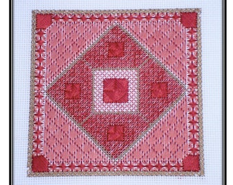Canvaswork Square #1 (PDF) Pattern