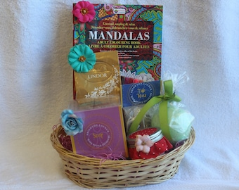 Get Well Spa Basket