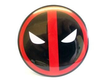 Marvel Deadpool Logo Pocket Mirror 76mm 3 inch