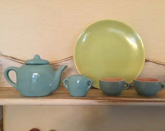 Child sized tea set