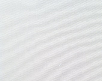 Heavy weight Siver Gray  Cotton Canvas fabric