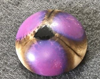 Lampwork Glass Cabochon by Robert Jennik of Knot Just Beads