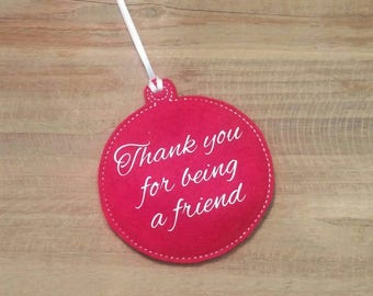 Thank You for being a Friend Ornament Golden Girls