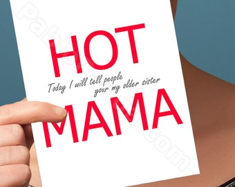 Mother's Day Card | Funny Card | Card For Mom Greeting Card Mum Card Birthday Card Card For Mum Funny Mom Card Funny Mothers Day Funny Card