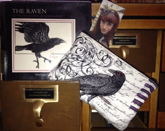 Edgar Allan Poe/Raven Cosmetic Bag