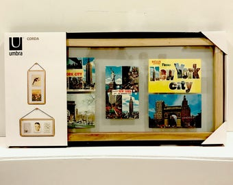 New York City Postcards - Framed - 1970s