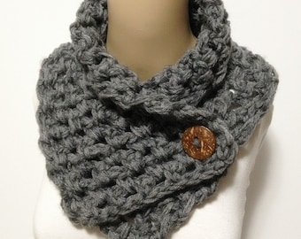 Fashion Neck Warmer With Angola Mohire