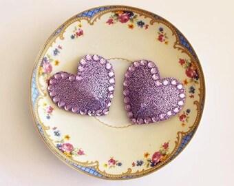 Glitter Heart Nipple Pasties