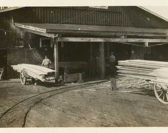 vintage photo 1919 Klamath Falls Oregon Lumber Company