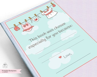 Bookplate Card ,Printable Bookplates,Book Plates,Baby Shower Bookplate,Bookplates,girls Bookplate,Book-themed,girls lables,Baby girl tag
