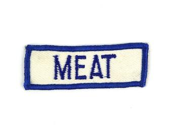 Meat Vintage Patch