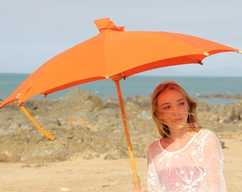 Haasch Supabrella - Size Large - ethical, plastic free, fair-trade, biodegradable, sustainable, umbrella for sun, umbrella for rain, parasol