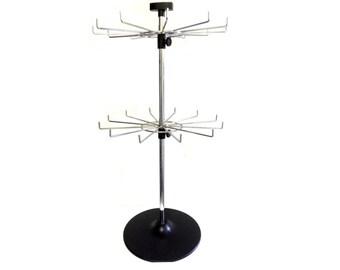 2 Tier 12-Hook Spinner Display Stand