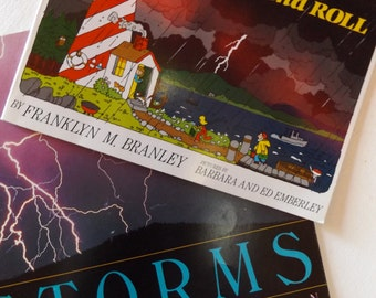 Storms: Set of Two Educational Books for Children