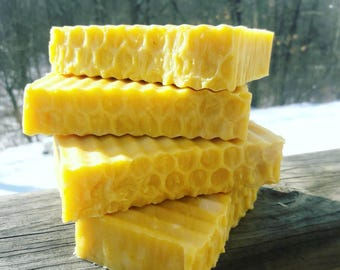 Guinea Hill Soap With REAL Carrots Buttermilk and Honey Unscented