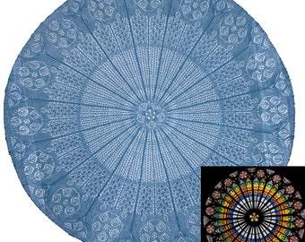 Cathedral Rose - PDF Pattern