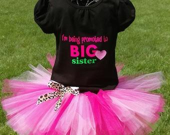 SALE!!  Big Sister Tutu Outfit
