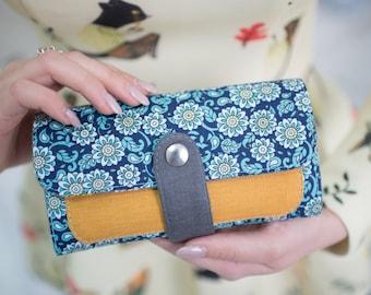 Woman Wallet, Vegan Wallet, Vegan Gift, Wallet For Women, Womens Clutch, Fabric Wallet, Designer Wallet, Gift For Women, Gift For Her, Purse