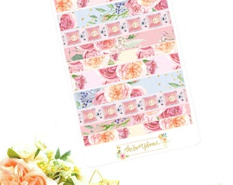 ELEGANT | Faux Washi Sticker Sheet