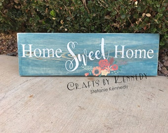 Home sweet home / wood sign