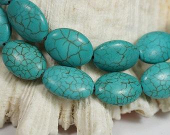Magnesite Beads 17x13x7mm Gemstone Beads Bead Supply Bead Strand